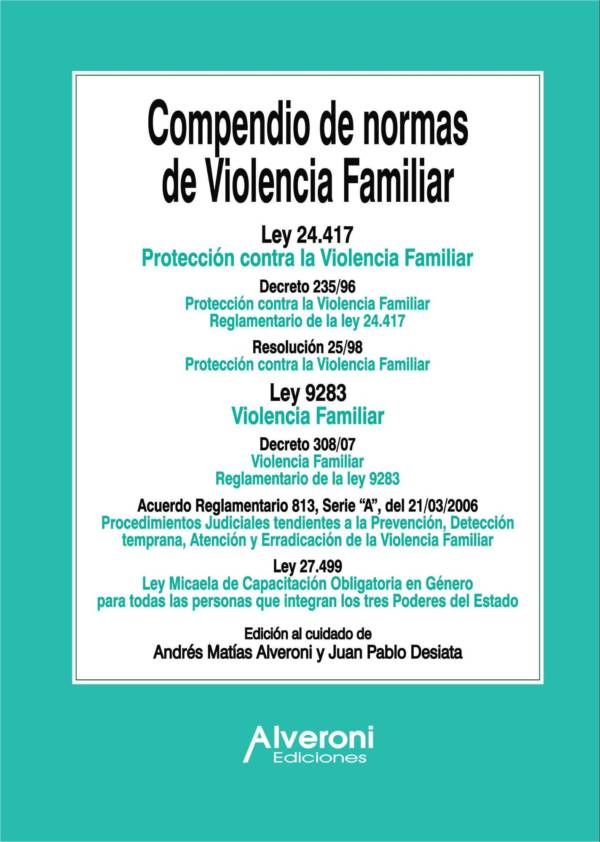 Compendio de normas de Violencia Familiar